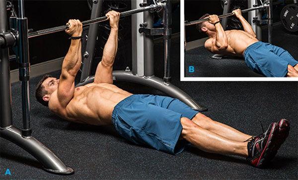 Biceps Ladder - Nằm ngửa kéo người