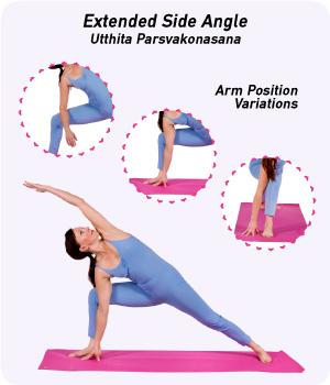 Extended Side Angle Pose - Utthita Parsvakonasana