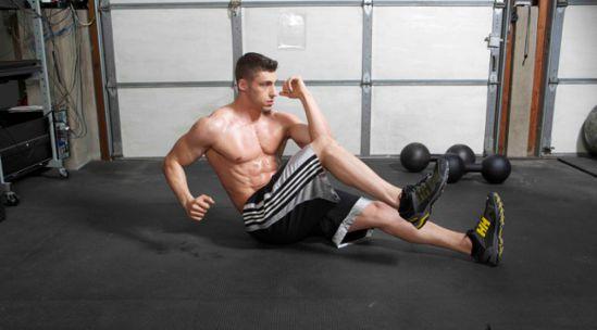 Sprinter Sit-Ups