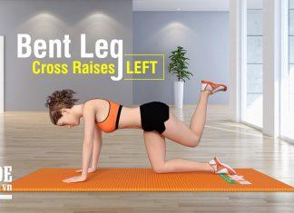 Cách tăng số đo vòng 3 hiệu quả với Bent Leg Cross Raises