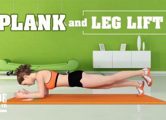 Hướng dẫn thực hiện thử thách cơ bụng với Plank nâng chân