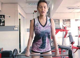 Khi thánh nữ Maria Ozawa đi tập Gym