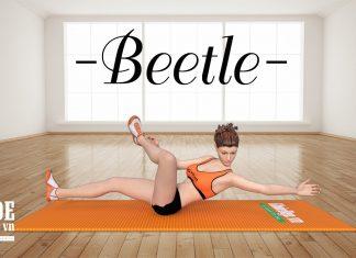 Cách giảm mỡ bụng nhanh với bài tập bụng Beetle