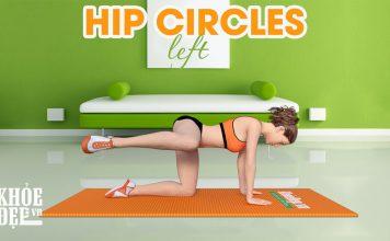 Bài tập cho mông to và săn chắc với Hip Circles