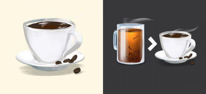 Trà chứa nhiều Cafein hơn cà phê