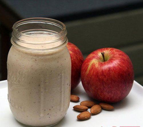 Sinh tố giảm cân táo và quế