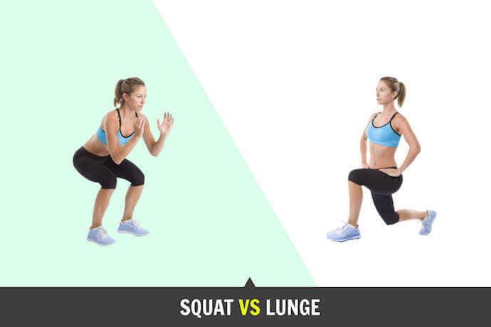 So sánh Lunge và Squat, bài nào tăng vòng 3 nhanh nhất