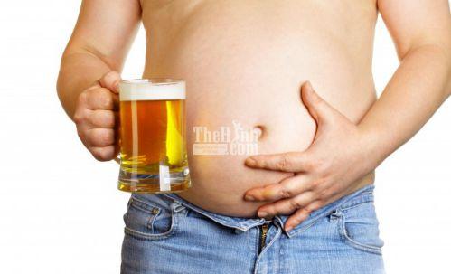 Uống bia khiến thành quả tập luyện trở nên công cốc