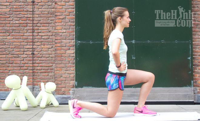 16 bài tập chân cho nữ tại nhà bằng các biến thể của Lunge