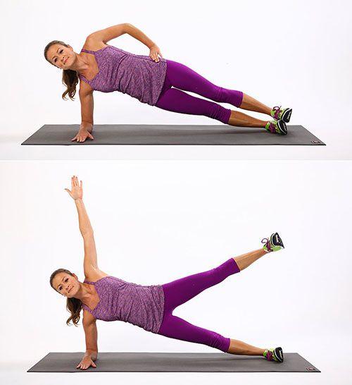 Elbow Plank With Leg Lift - Plank khuỷu tay nâng chân