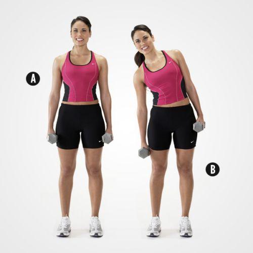 Động tác Side Bends