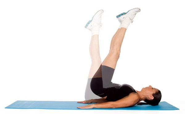 Bài tập giơ chân nâng mông - Butt-Ups