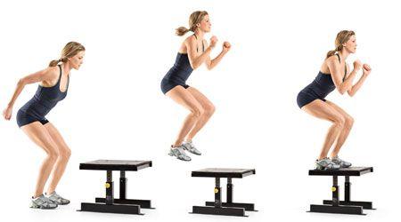 Box Jump - Nhảy lên ghế