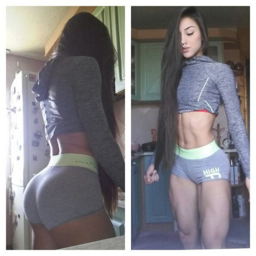 Cô gái có cặp chân khiến các anh tập gym cũng thấy xấu hổ