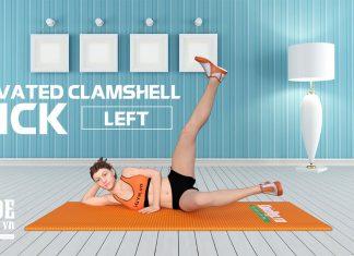 Sở hữu vòng 3 đẹp nhất trong nhóm bạn nhờ Elevated Clamshell Kick