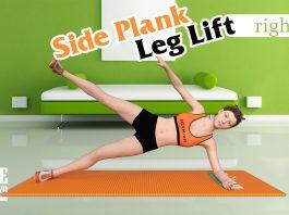Vòng eo thon nhỏ như người mẫu với Side Plank Leg Lift