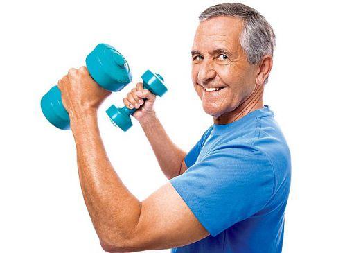 Tăng chất lượng cơ bắp cho người già