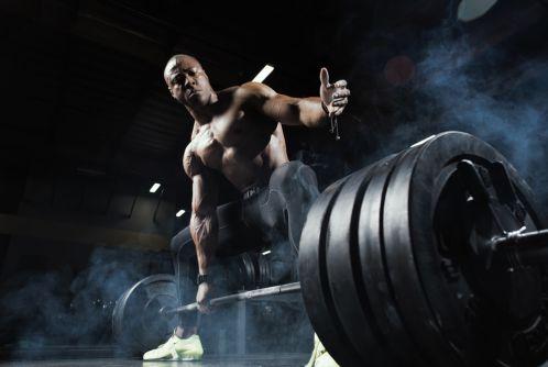 Đẩy tạ nặng hơn sẽ giúp xây dựng nhiều cơ bắp hơn