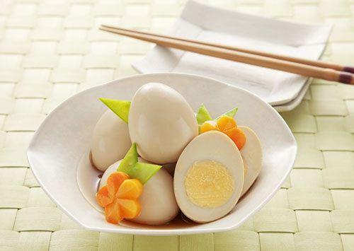 Trứng luộc giàu chất béo tốt