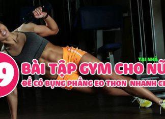 19 bài tập gym cho nữ để bụng phẳng eo thon ngay trong 2 tuần