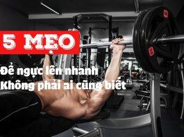 5 cách tập cơ ngực cho nam hiệu quả nhất