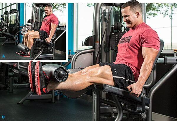 Leg Extension - Duỗi chân tập đùi trước