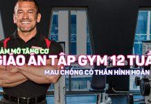 Giáo án tập gym trong 12 tuần cho cả nam lẫn nữ