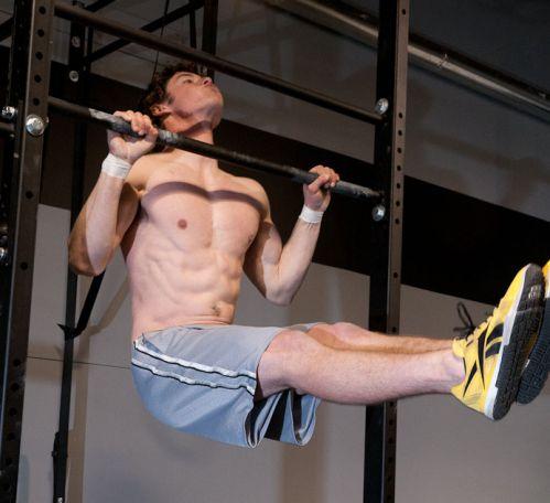 L-Sit Pullup - Hít xà với chân nâng 90 độ