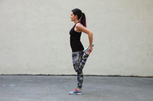 Quadriceps Stretch - Kéo căng đùi