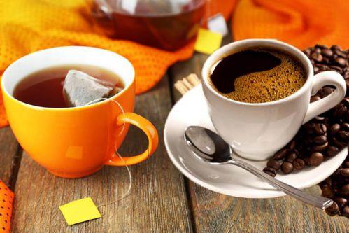 Cà phê và trà sẽ giúp tăng trao đổi chất