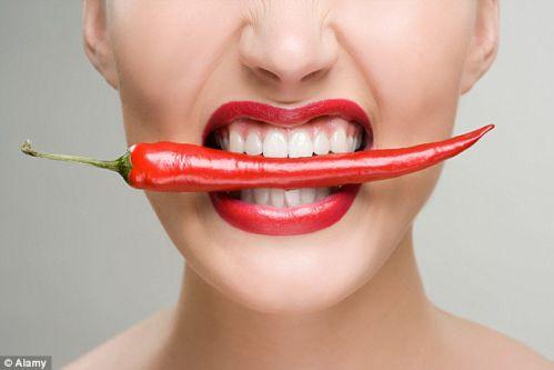 Ăn thêm ớt khiến bạn ăn ít hơn