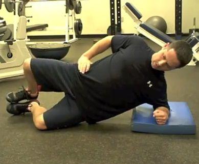 Động tác Side Plank Clam