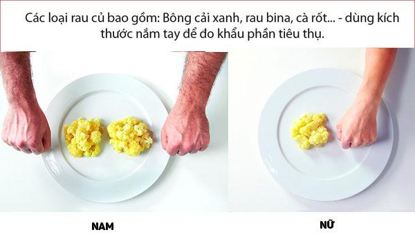 Cách kiểm soát lượng thức ăn hằng ngày