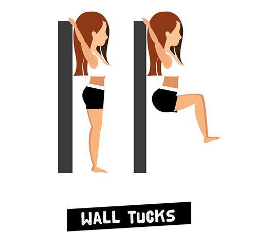 Wall Tucks - Treo người gập bụng