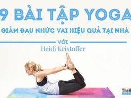 9 bài tập Yoga giúp giảm đau vai hiệu quả dễ tập tại nhà