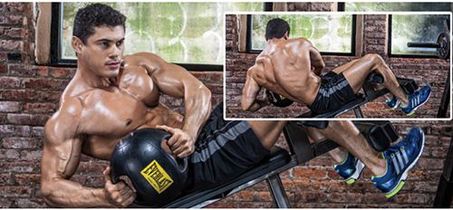 Decline Bench Russian Twist