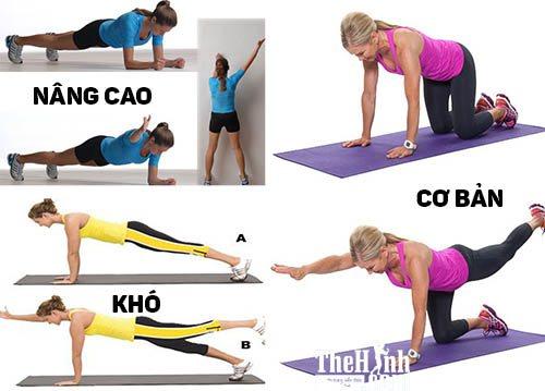 Động tác Diagonal Plank