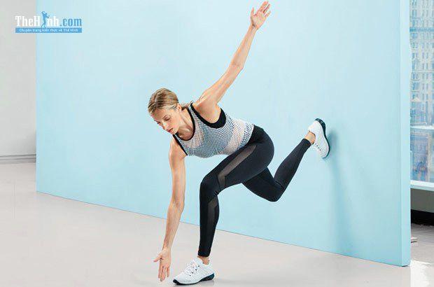 Chùng chân kiểu chạy bộ - Runner's Lunge