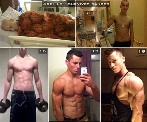 Nhờ tập gym và chàng trai 9x đã thoát khỏi căn bệnh ung thư