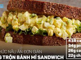 Công thức nấu ăn ngon đơn giản | Sandwich trứng giàu Protein