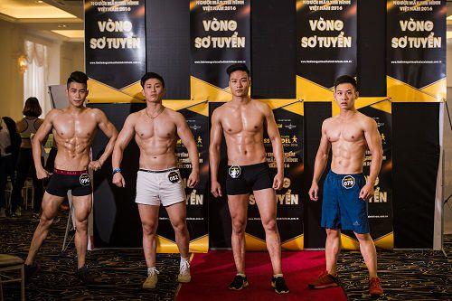 Lộ diện những gương mặt đáng gờm tại cuộc thi người mẫu thể hình Việt Nam 2016