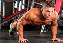 Cách tập cơ ngực bằng hít đất tại nhà trong 8 tuần cho ngực to dày