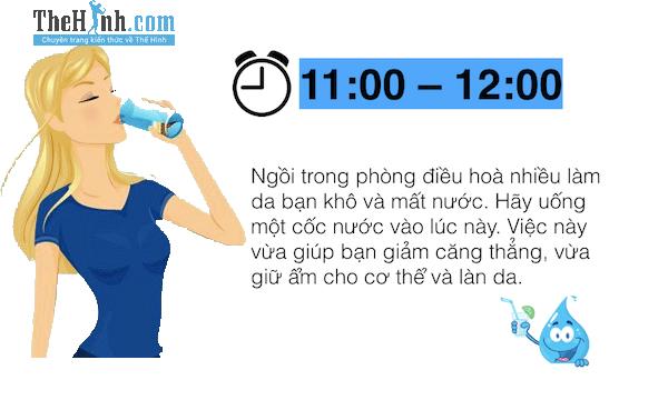 8 thời điểm vàng để uống nước trong 1 ngày rất tốt cho sức khỏe