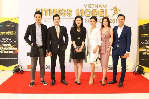 """Hội tụ dàn sao """"khủng"""" tại tìm kiếm người mẫu thể hình Việt Nam 2016"""