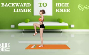 Backward Lunge to High Knee