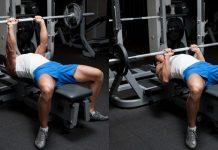 Close-Grip Barbell Bench Press - Bài tập giúp ngực phát triển toàn diện