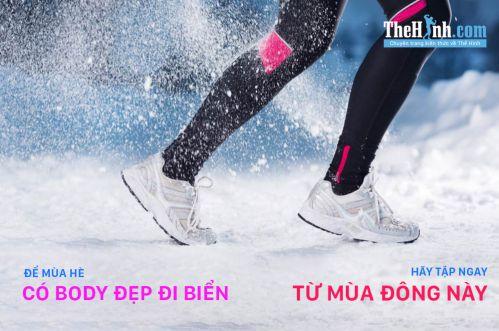 Đặt mục tiêu tập gym cho mùa đông này