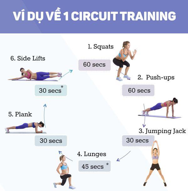 Circuit Training là gì ? Tại sao nên tập Circuit Training ngay hôm nay ?