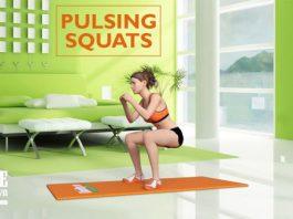 Bài tập cho mông cong vút siêu gợi cảm cùng Pulsing Squat