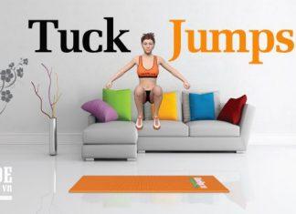 Tuck Jumps - Bài tập đốt cháy calo hiệu quả để giảm cân cấp tốc cho nữ